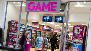 Game sniffing around the carcass of HMV