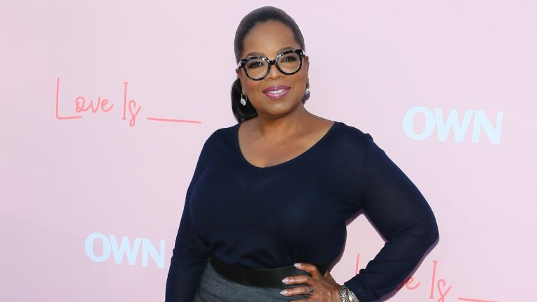 Oprah Winfrey attends the Los Angeles premiere of OWN's 'Love Is_' held at NeueHouse Hollywood on June 11, 2018