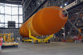 NASA Eyes Space Shuttle Fuel Tank Fix