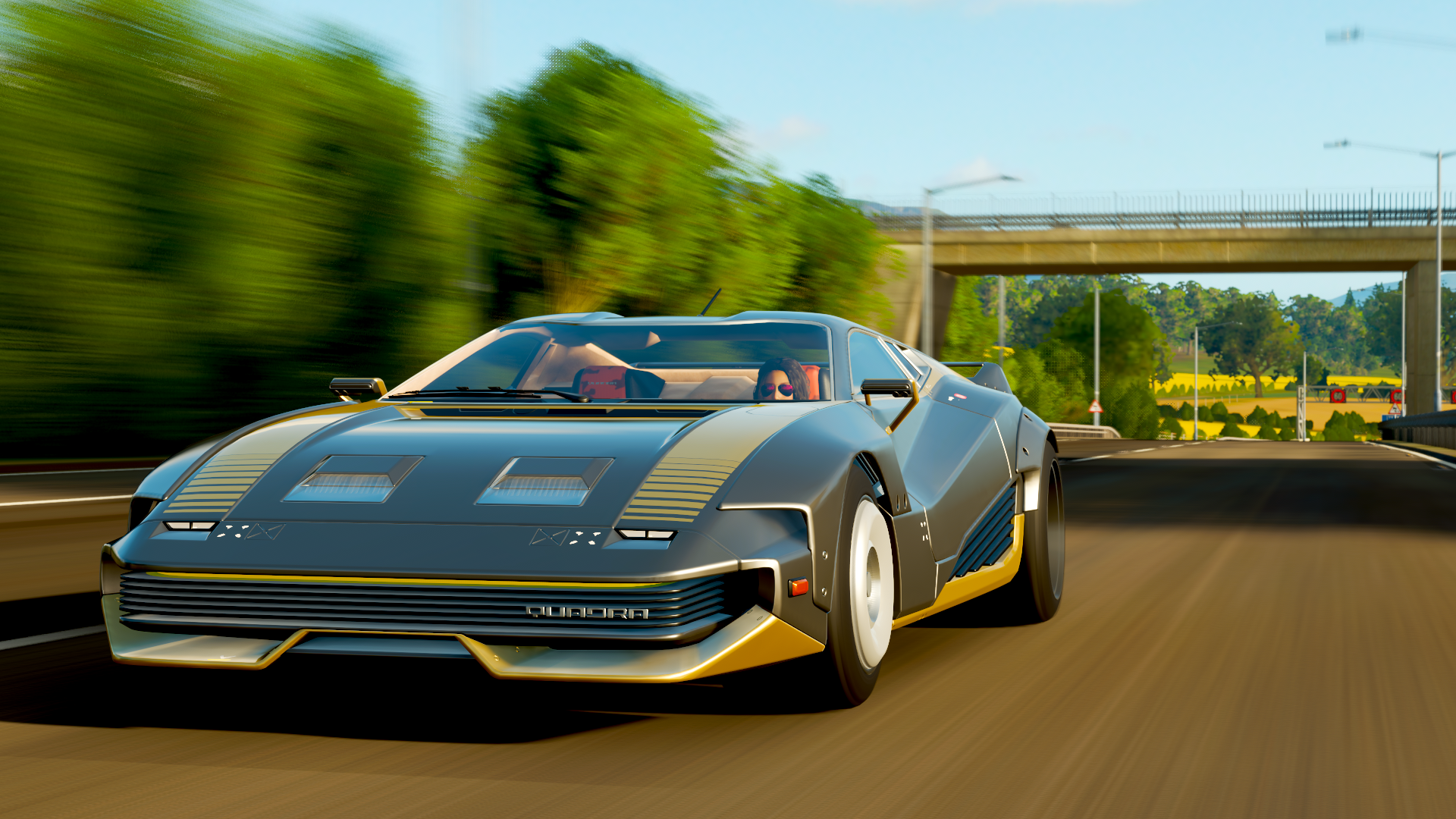 Forza Horizon 4 is getting a Cyberpunk 2077 vehicle tomorrow