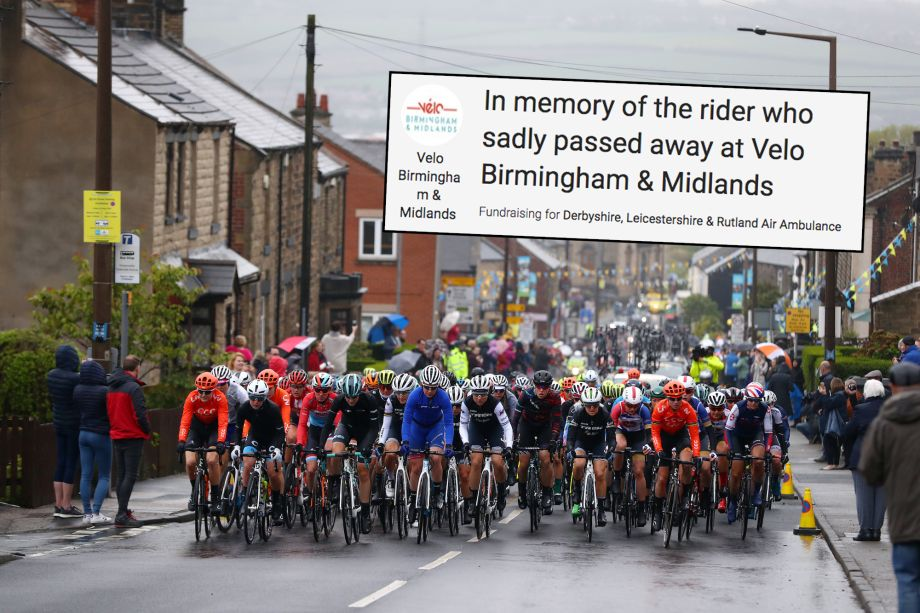 £20,000 has been raised for the cyclist who died at Velo 2019