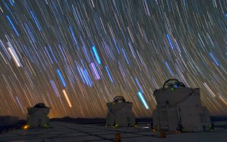 Star Trails Over Paranal Observatory 1920