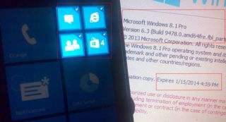 Windows Phone 8.1 leak hints at notification centre, multi-tile select tool