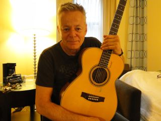 Tommy Emmanuel, photographed at the Hotel Mela, NYC, 26 July 2012