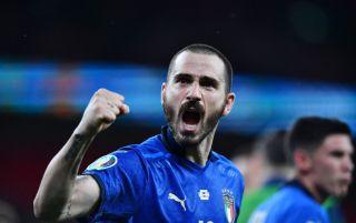 Bonucci Italy vs Spain Euro 2020