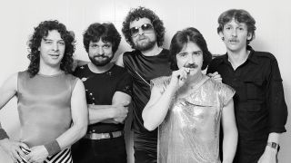 A photograph of Blue Oyster Cult in the 80s