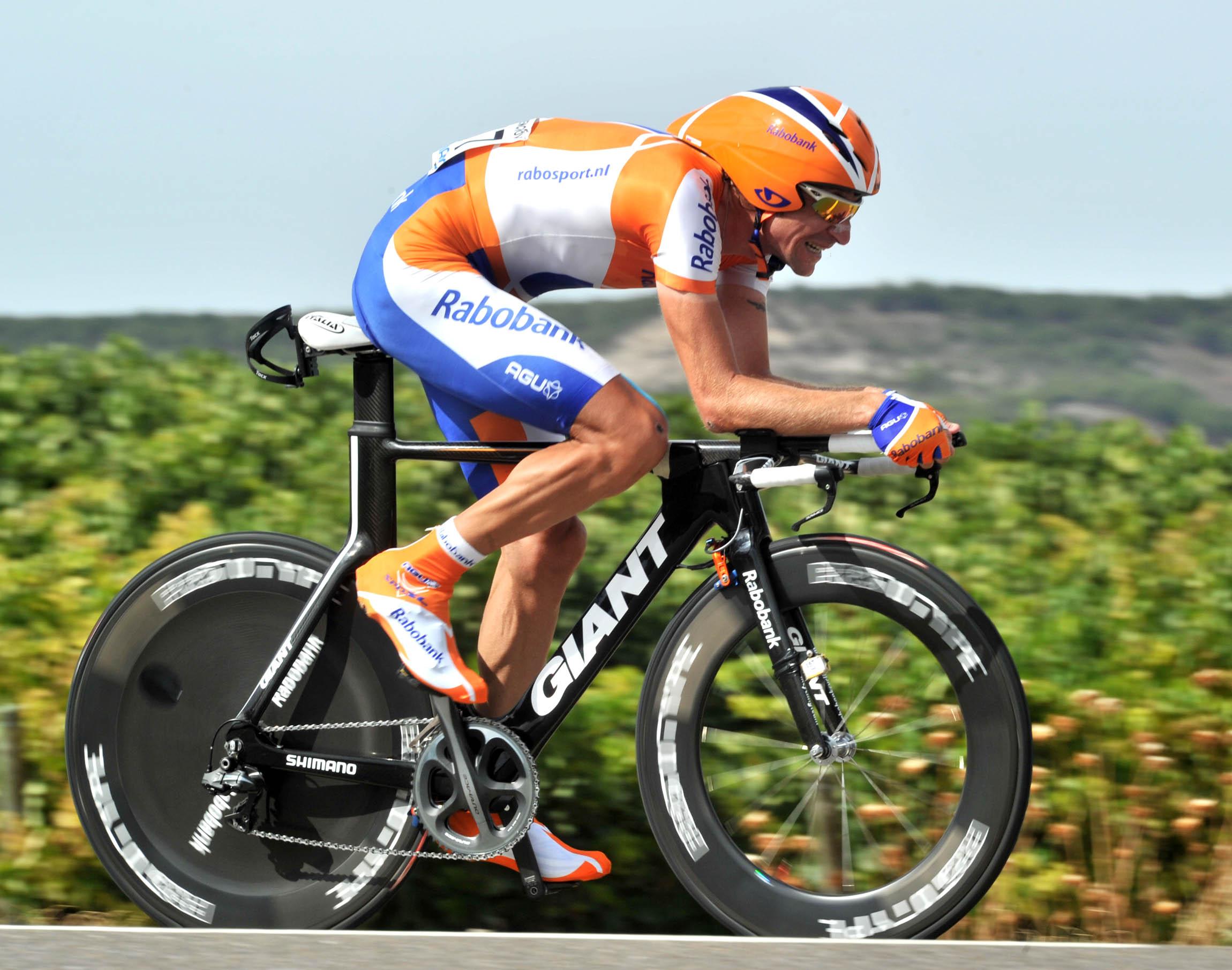 Denis Menchov, Vuelta a Espana 2010, stage 17 ITT