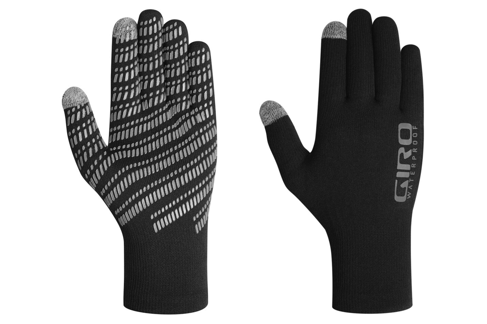 Giro Xnetic H20 Cycling Glove front and back on a white background