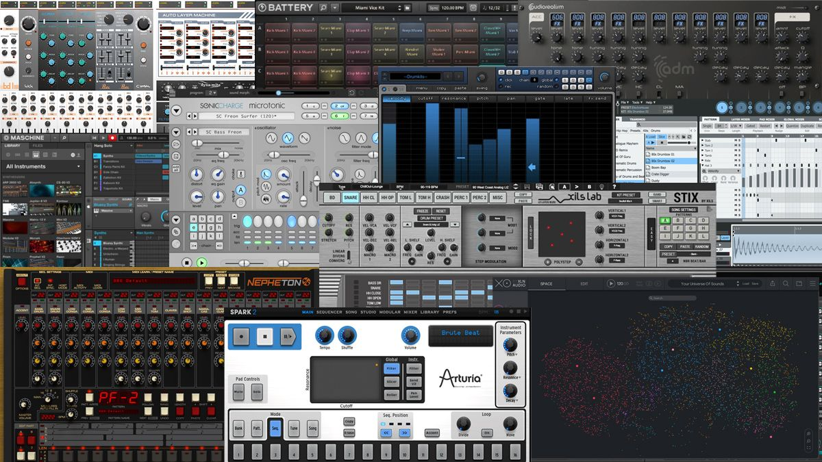 The Best Drum Machine Vst Plugins 2020 Beatmaking Software For Your Daw Musicradar