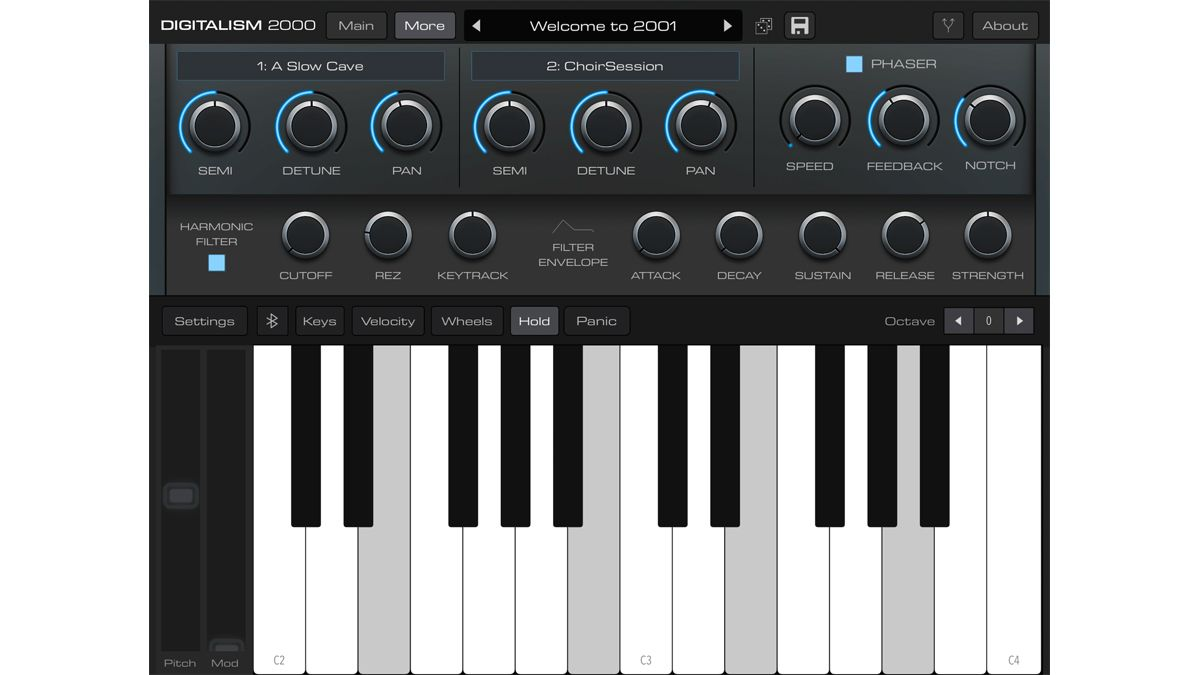 Audiokit Pro's Digitalism 2000 app brings back the synth sounds of the early noughties