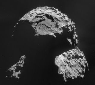 Comet 67P/Churyumov-Gerasimenko on Nov. 6, 2014
