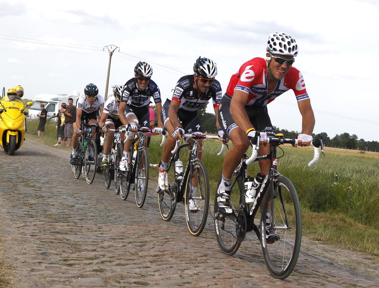 Thor Hushovd escape, Tour de France 2010, stage 3