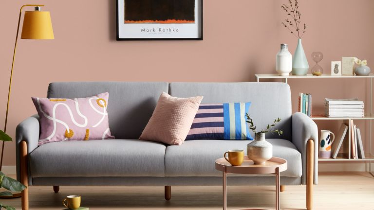 pink living room by john lewis