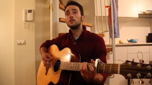 Nathan Haas singing