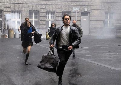 The Baader-Meinhof Complex - Andreas Baader (Moritz Bleibtreu) on the run