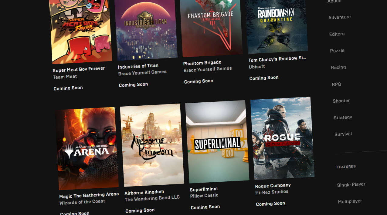 Epic Games Store is adding Open Critic reviews and wishlisting | PC Gamer