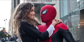 Tom Holland and Zendaya in Spider-Man