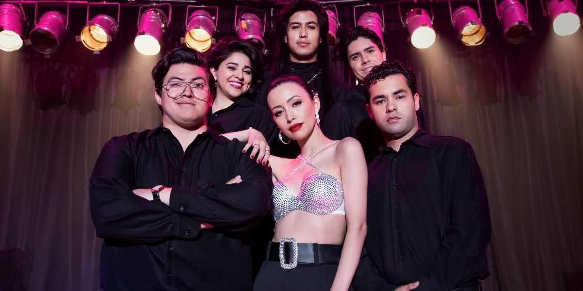 The cast of Selena: The Series