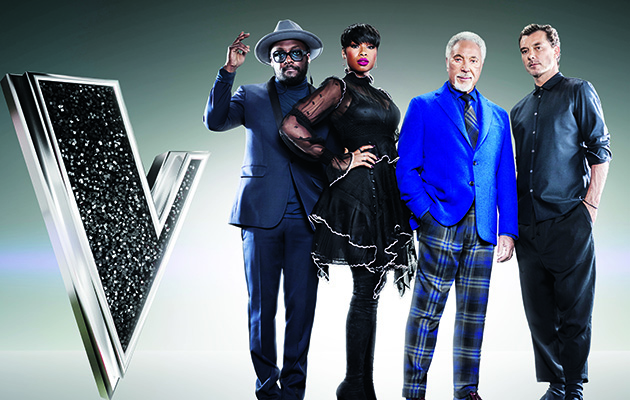 The Voice UK goes live for the first of this weekend's two shows