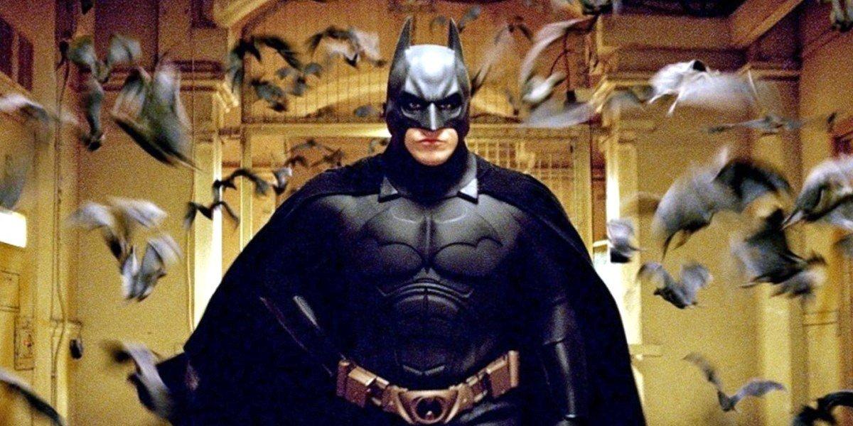 Christian Bale in Batman Begins