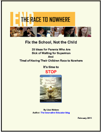 Make your Race to Nowhere movie!