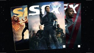 A selection of subscriber covers of SFX magazine.