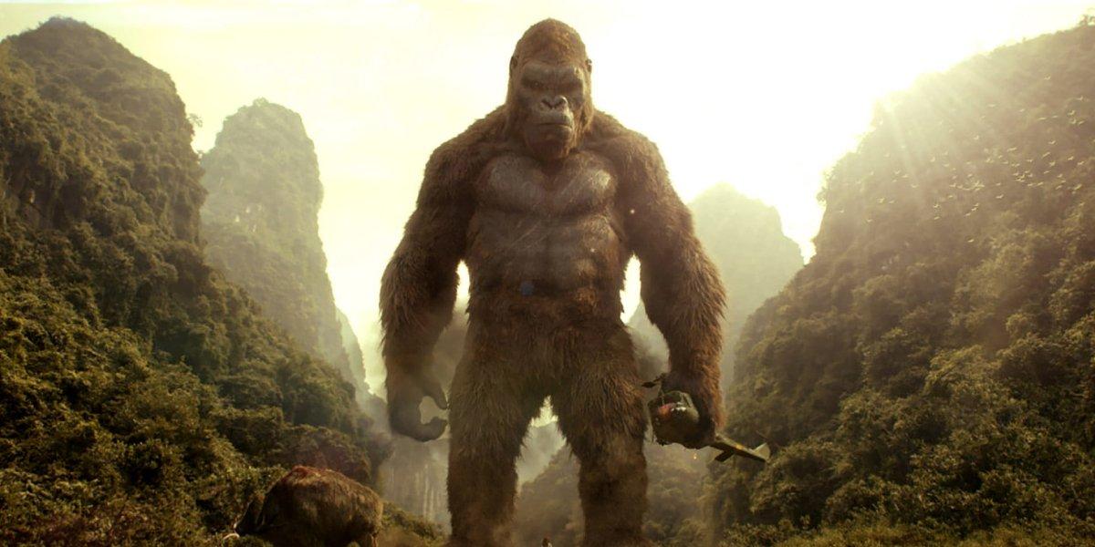 Kong in Kong: Skull Island