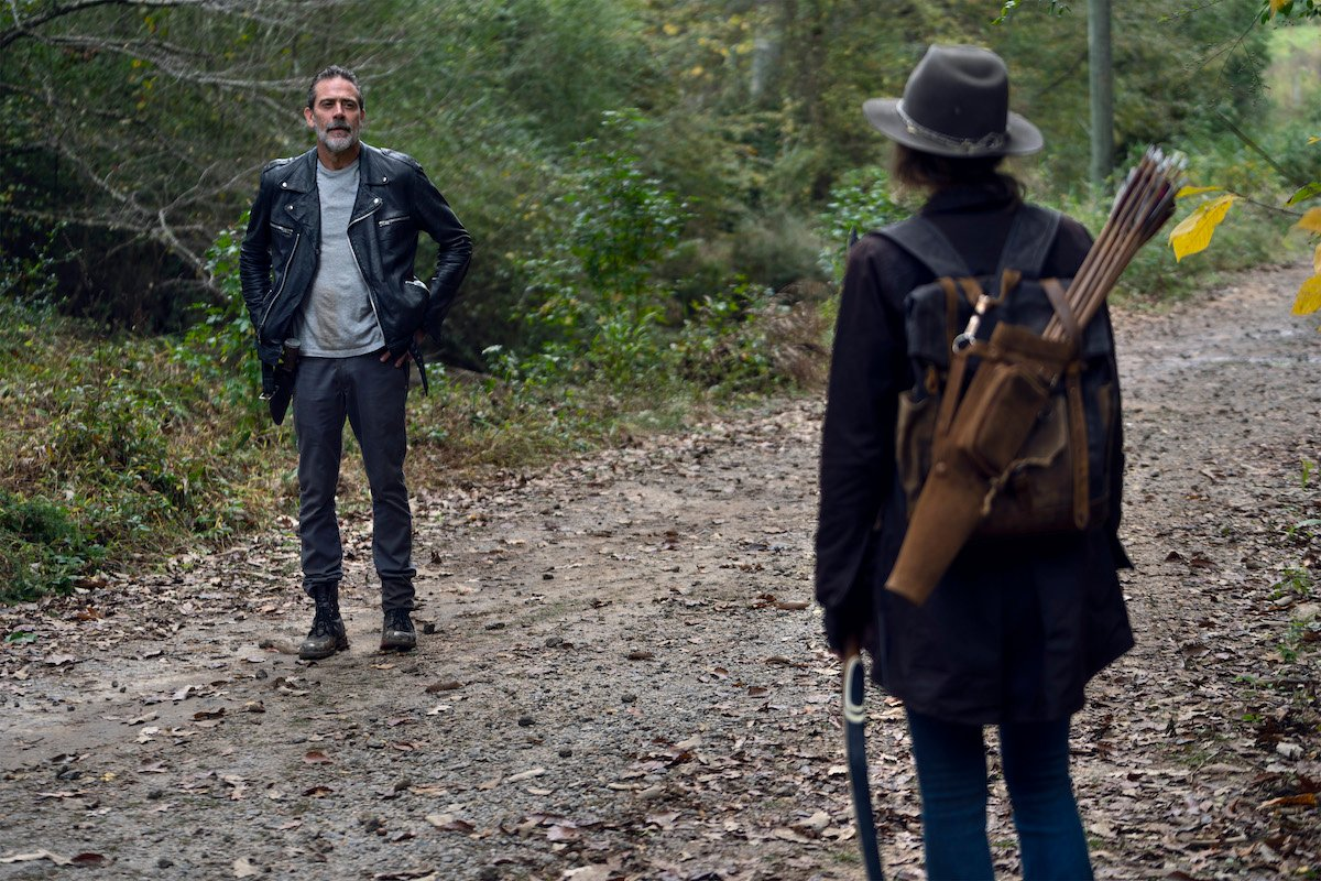 negan and maggie reunite season 10 the walking dead