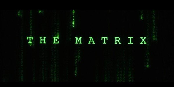 The Matrix Title Card