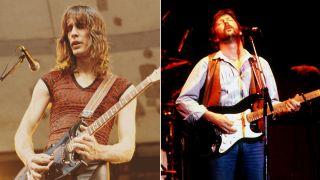 Eric Clapton and Todd Rundgren