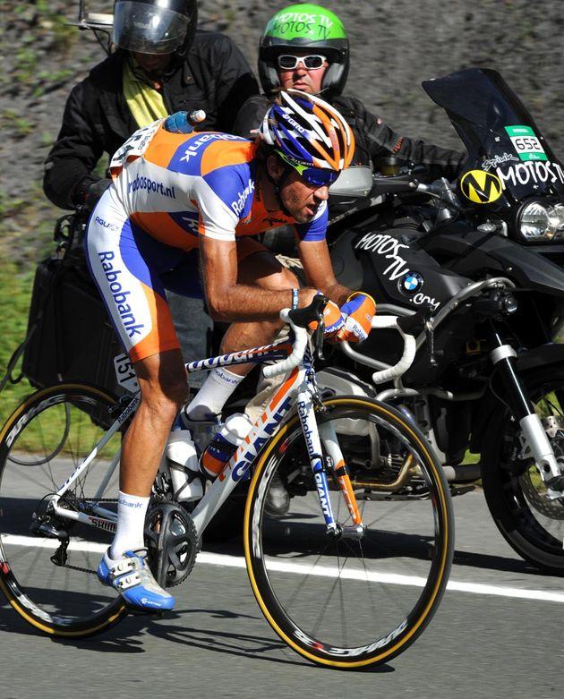 Carlos Barredo solo, Vuelta a Espana 2011, stage 20