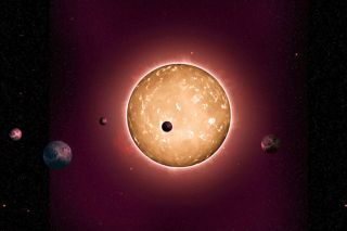 Kepler-444 and orbiting planets