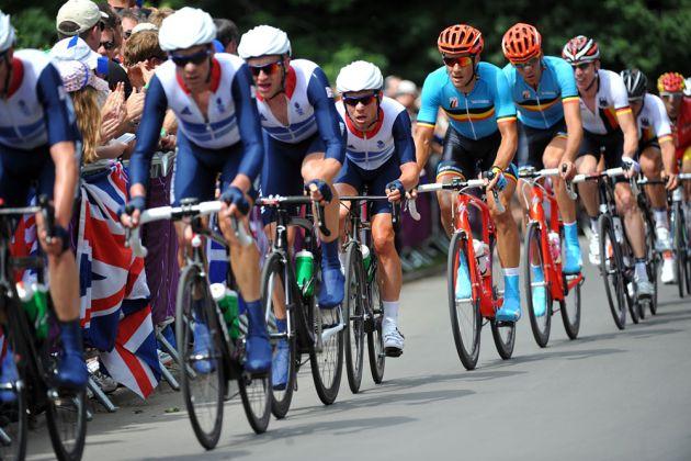 Mark Cavendish, London 2012 Olympic men's road race