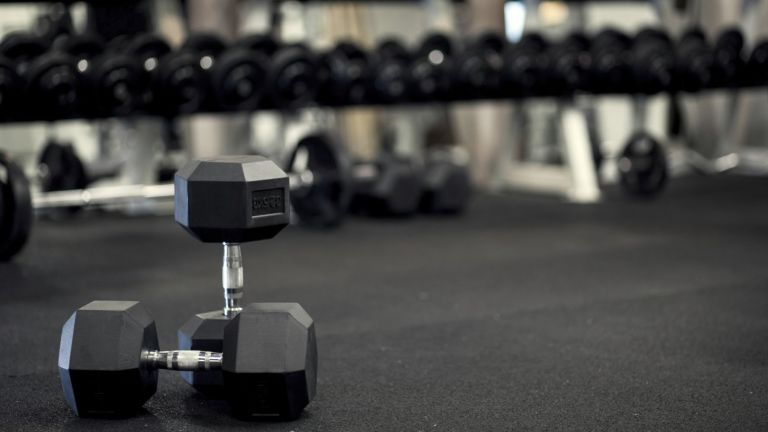 best dumbbells: lifestyle image
