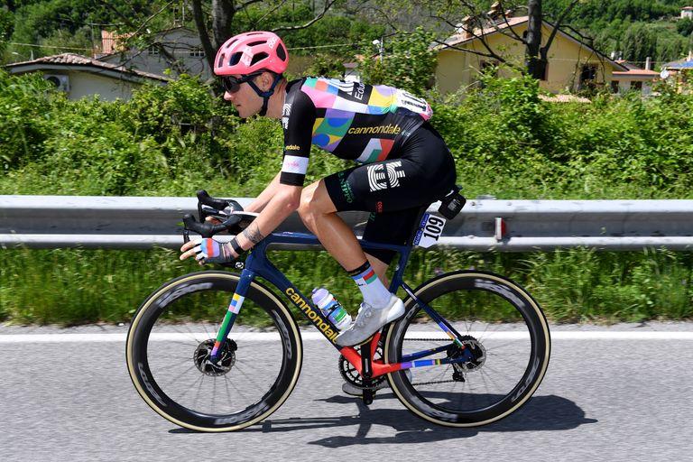 Tejay van Garderen at the 2021 Giro d'Italia