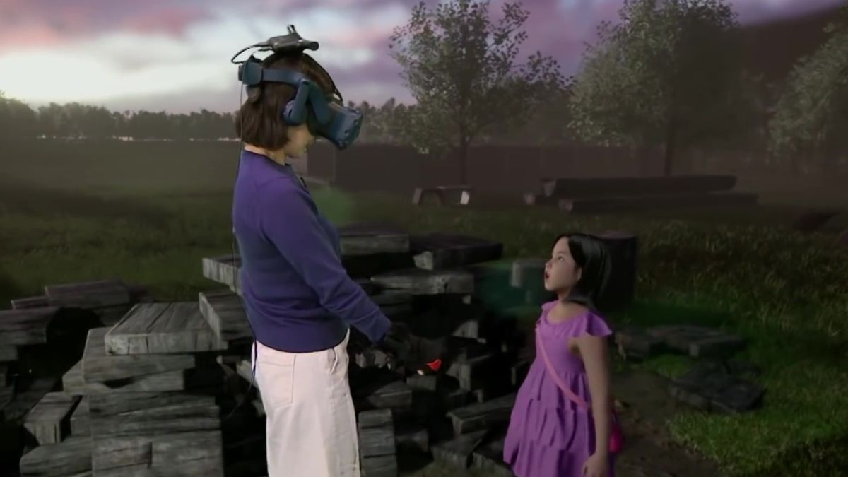 A grieving mother meets her deceased daughter in VR in this tragic, unsettling documentary