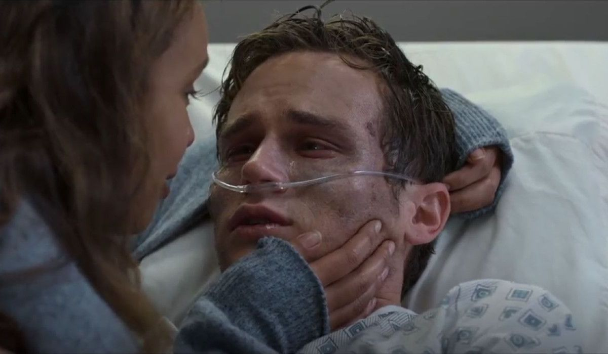 Justin Foley death scene by AIDS in 13 Reasons Why