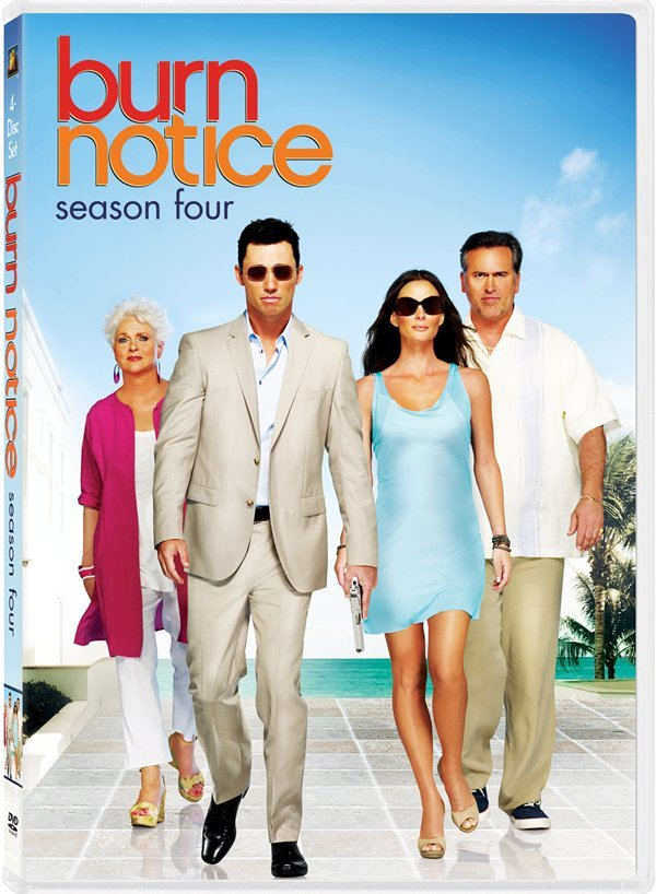 New DVD Season Sets Of Burn Notice And White Collar This June #16543