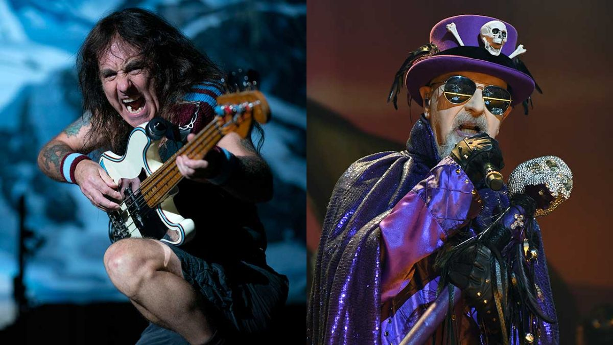 """Iron Maiden's Steve Harris on proposed tour with Judas Priest: """"Why not?"""""""