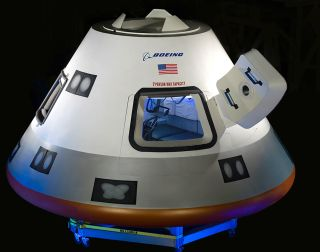 Boeing CST-100 Mockup