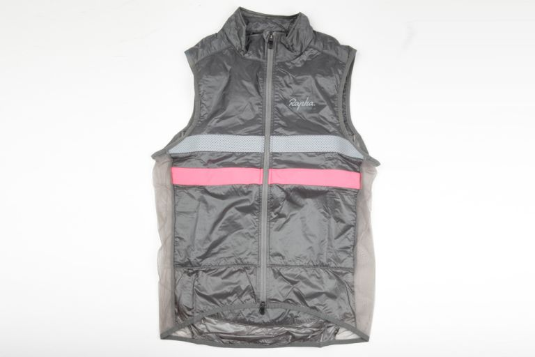rapha brevet insulated gilet front
