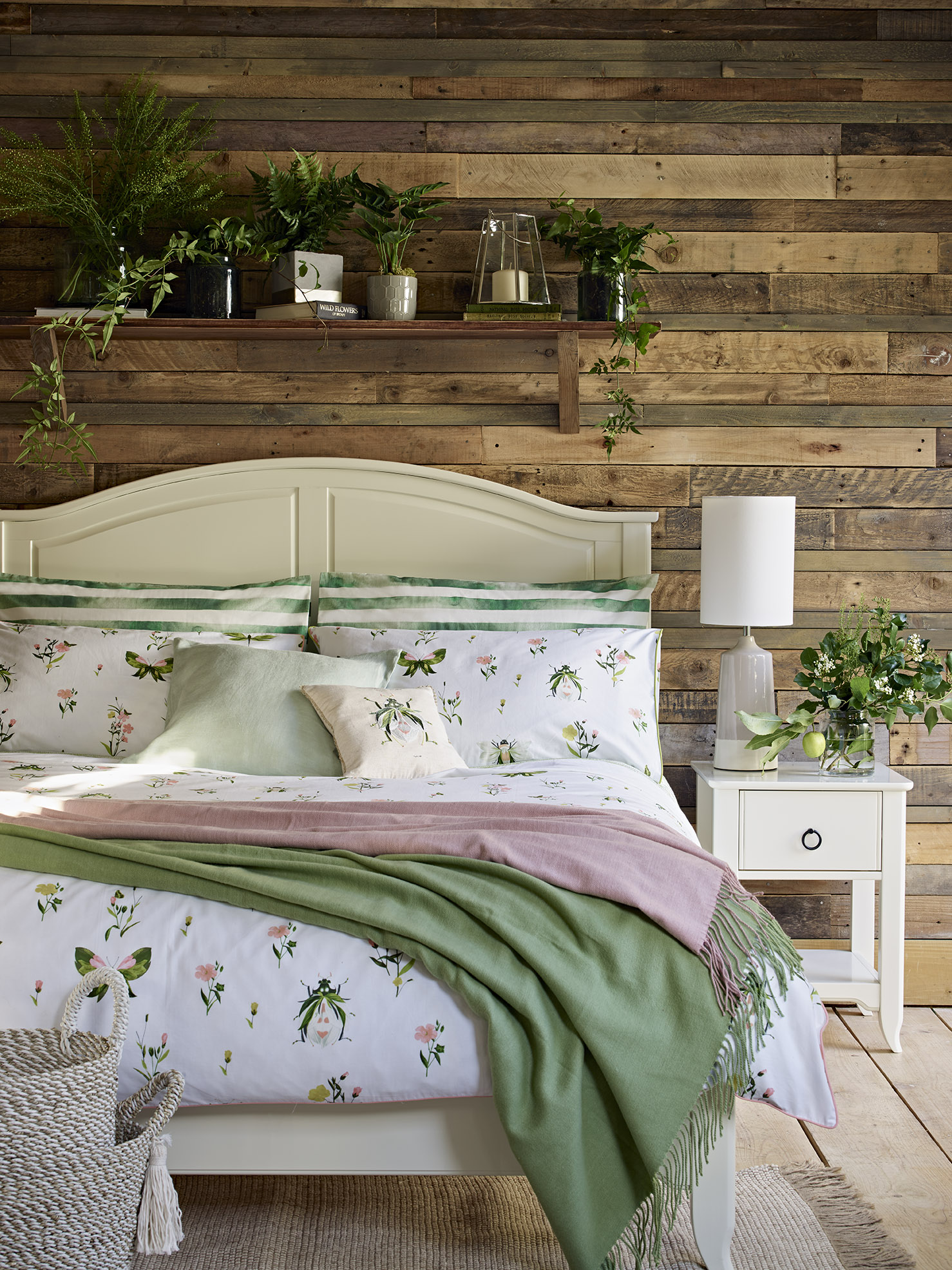 Sage Green Home Colour Trend Bedroom