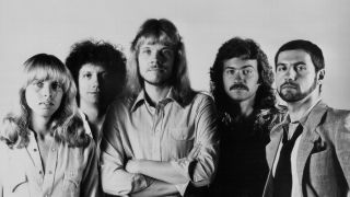 The classic line up of the rock band Styx in 1977