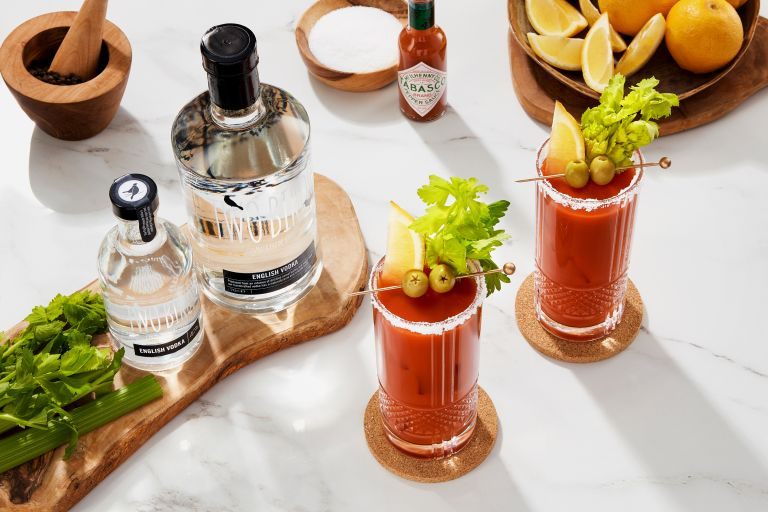 Two Birds vodka bloody mary recipe