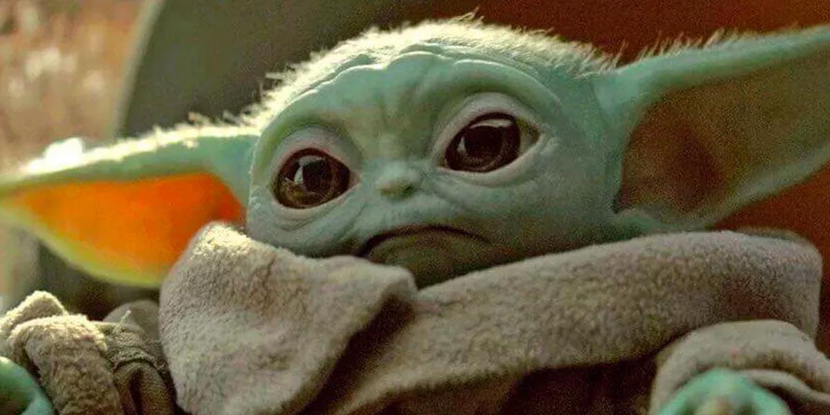 Baby Yoda close-up in The Mandalorian Season 1 on Disney+