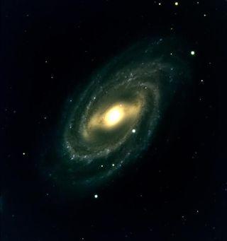 Spiral galaxy M109