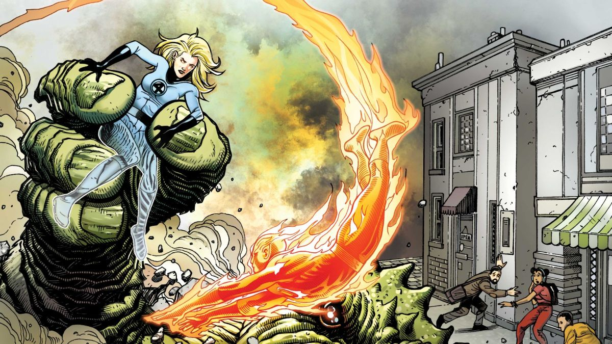 Classic Lee & Kirby Fantastic Four stories get reimagined for 60th anniversary
