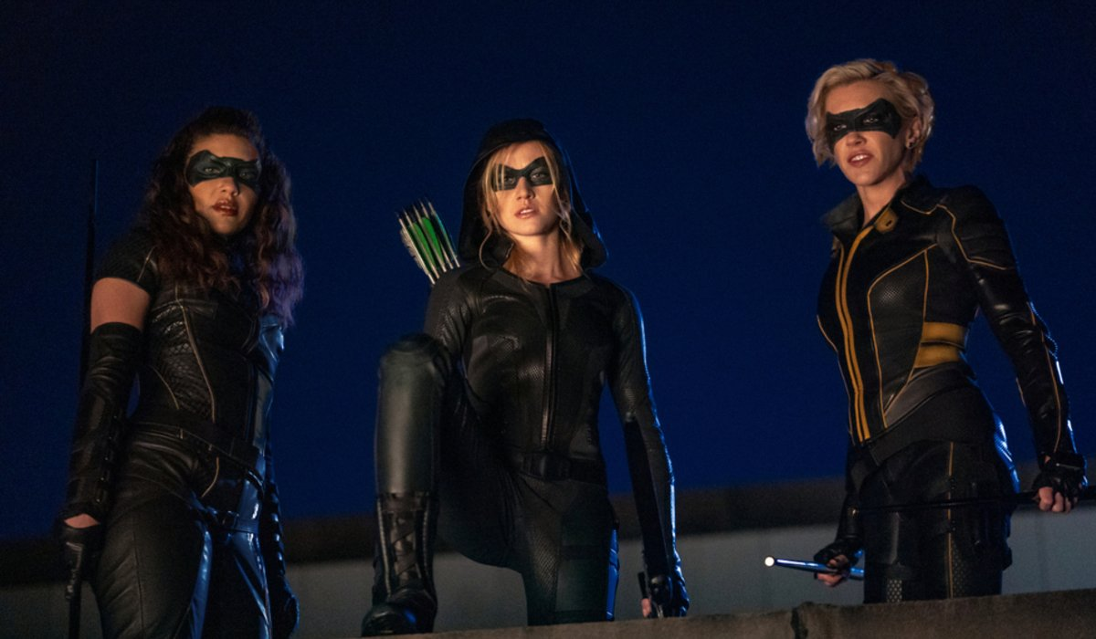 green arrow and the canaries the cw arrow