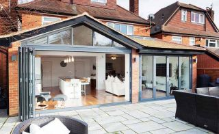 A rear extension to this family home has transformed the property