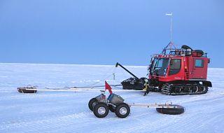 Yeti rover robot